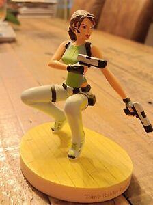 Figurine Lara Croft Tomb Raider Legend Training - Atlas - Collector Rare -