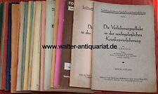 Konvolut 23 Schriften 1927-1933 Krankenversicherung Krankenkasse Sozialvers. ...