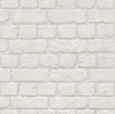 Rasch Blanco Ladrillo Papel Pintado 226706