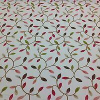 Fryetts Cotton JULIET CHINTZ Leaf DesignFabric for Curtain/Upholstery/Crafts