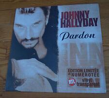Johnny Hallyday - Pardon - Vinyle Maxi 45T - Neuf