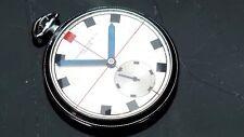 Record Watch Co Geneve orologio decò design razionale anni '30 made Swiss 50 mm