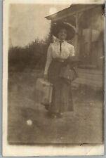 Real Photo Postcard Addressed to Shaw & Bordon in Spokane, WA Between 1907-1919