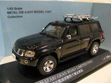 1/43 Nissan Patrol / Nissan Safari Gran Road Limited (Y61) Police Car diecast