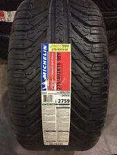 2 New 275 40 18 Michelin Pilot Sport A/S Plus Tires