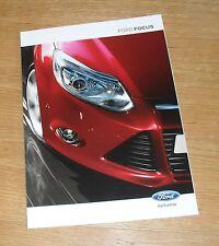 Ford Focus Brochure 2012- Zetec Titanium X - 1.6 Ecoboost 1.6 2.0 TDCI