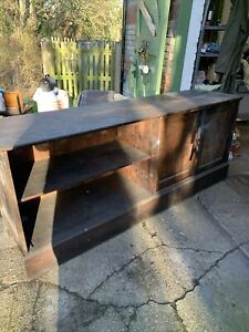 Old Post Office Counter Oak
