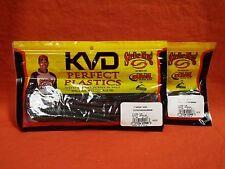 STRIKE KING KVD Perfect Plastics Finesse Worm (2 pks) #FIN65-148 Magic Crawler