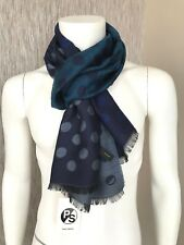 PS PAUL SMITH REVERSIBLE DEGRADE SPOT SCARF MADE IN ITALY RETAIL £95