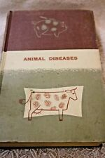 Vintage Book Animal Diseases The United States Dept. of AGRICULTURE 1956 HC RARE