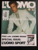 L' Mens (2) Vogue & Sport 327 January 2002 Edgar Davids Michel Comte Steve Hiett