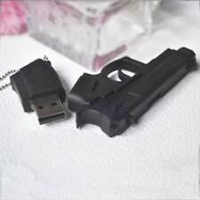 Newest Gun Pistol Shape 8GB USB 2.0 Memory Driver Stick Flash Thumb Drive Great