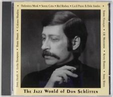 NEW Various Artists, The Jazz World of Don Schlitten, Prevue, 1998