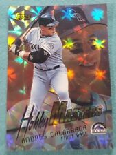 1997 Topps Hobby Masters #HM20 Andres Galarraga Colorado Rockies Baseball Card