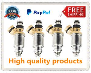 4Pcs Fuel Injectors 23250-16150 for Toyota Corolla 1.6 Carina AT190 Corona Levin