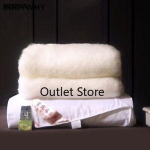 100% Natural Silk Quilt Mulberry Winter Jacquard Blanket Queen King Size  Duvet