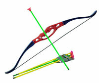 Kids Toy Bow & Arrow Archery Set and Target Outdoor Garden Fun Game Shooting NEW