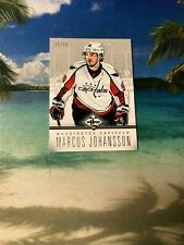 2012 PANINI LEAF LIMITED SILVER #30/49 MARCUS JOHANSSON #2