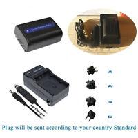 Battery NP-FH40  for Sony DCR-SR45 DCR-SR46 DCR-SR72 DCR-SR42 DCR-SR220 /Charger