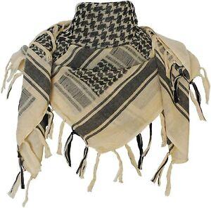 Shemagh Tactical Desert 100% Cotton Scarf Wrap Men / Women