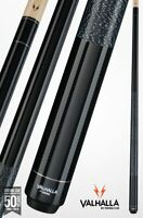 Valhalla by Viking 2 Piece Pool Cue Stick - Black with wrap - Lifetime Warranty!