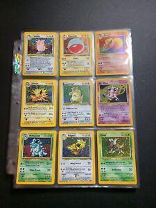 COMPLETE Pokemon JUNGLE expansion Trading Cards set 64/64 Higher grade