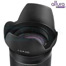 52MM Tulip Flower Lens Hood for Nikon AF-S 18-55mm 55-200mm f/4-5.6G Camera Sony