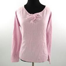 Darjoni Cashmere Sweater Pink Womens Large