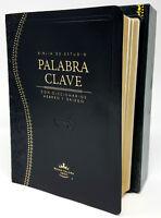 BIBLIA DE ESTUDIO PALABRA CLAVE REINA VALERA 1960 CON DICCIONARIO HEBREO-GRIEGO