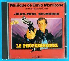 ENNIO MORRICONE - LE PROFESSIONEL - (Bande Originale Du Film) - CD - FRANCE 1981