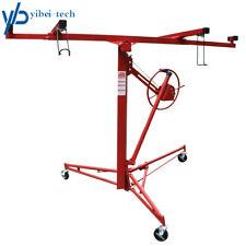 11Ft Drywall Lift Plasterboard Sheetrock Panel Lifter Hoist Carrier Safety Lock