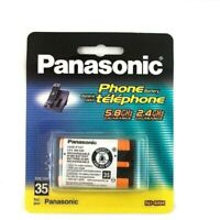 2Packs NIMH 3.6V 650mAh Panasonic HHR-P107 Battery Cordless telePhone Batteries