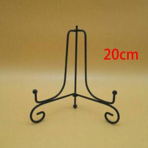 Decorative Plate Bowl Holder Display Stand Easel Picture Frame Pedestal Art Rack