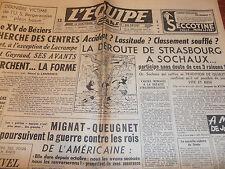 L'EQUIPE RUGBY LE XV DE BÉZIERS  ANNÉE 1950
