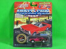 1994 Johnny Lightning 1971 Hemi Cuda Plymouth Muscle Cars w/Collector Medallion