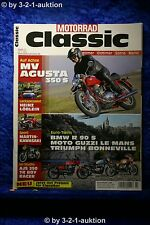 Motorrad Classic 3/12 MV Agusta 350 S BMW R 90 S AJS 350 7R Boy Racer