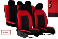 Eco-Leather Tailored Full Set Seat Covers RENAULT MEGANE CONVERTIBLE 2002 - 2009