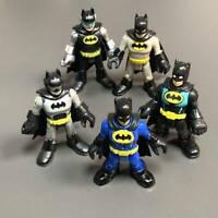 Lot 5 Fisher-Price Imaginext DC Super Friends Batman series action comics figure