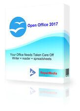 Open Office Professional Software Suite 2018 procesador de texto Editor Powerpoint