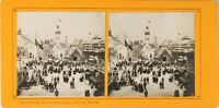 FRANCE Paris Exposition Universelle 1900 Pavillon Navigation Photo Stereo PL60