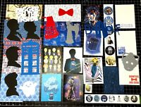 Doctor Who Scrapbook Kit! Project Life, Timelord, paper, die cuts, Tardis, Dalek