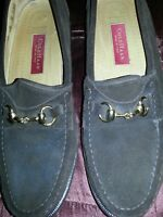 Cole Haan Brown Suede Horsebit Loafers Mens shoes size 10M with Buckle
