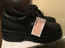 Terra Work Boots Low Rise Steel Toe CSA Made In Canada Size 10 Oil And Acid Res