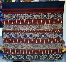 Early 20th century Tapis Lampung, Sumatra, Indonesia: Woman's Ceremonial Skirt