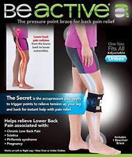 New Back Pain Acupressure Sciatic Nerve Be active Brace Point Pad Leg UK Seller