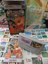 Super Famicom SFC:Magic Sword [TOP CAPCOM & 1ERE EDITION] Jap