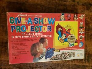 Vintage toy by Kenner 1968 Give-A-Show Projector Superman DC  Hulk Thor Marvel