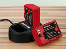 Bateria Kingma LP-E6N Li-Ion - Cargador CANON EOS 60D 70D 80D 6D 7D 7D2 5D2 ..