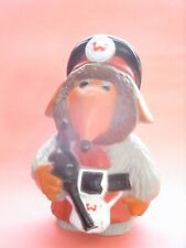 Womble Plastic figure with bag pipes by Filmfair 1976 Combex original