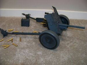 DRAGON, DML, DID 1:6 SCALE WWII GERMAN 3.7 CM PaK 35/36 ANTI-TANK GUN w/ ROUNDS